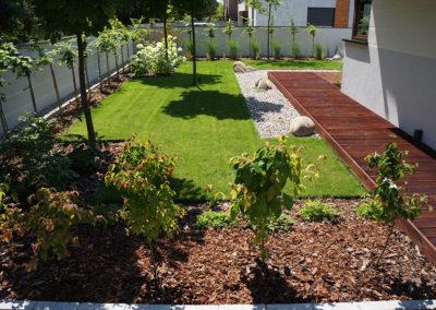 Ogród minimalistyczny 1