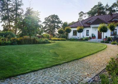 Ogród rustykalny 1