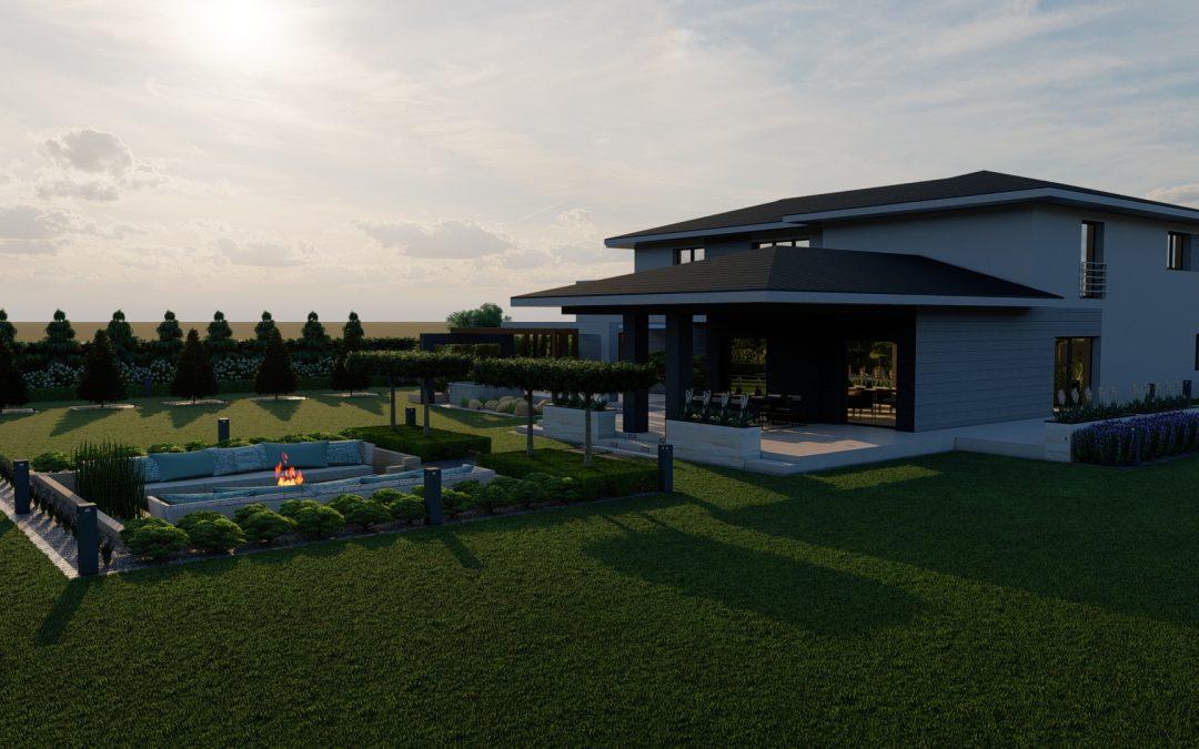 Ogród nowoczesny 3
