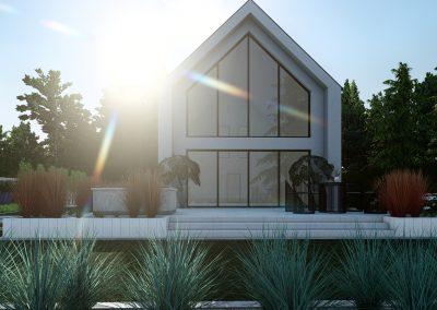 Ogród nowoczesny przydomowy 5