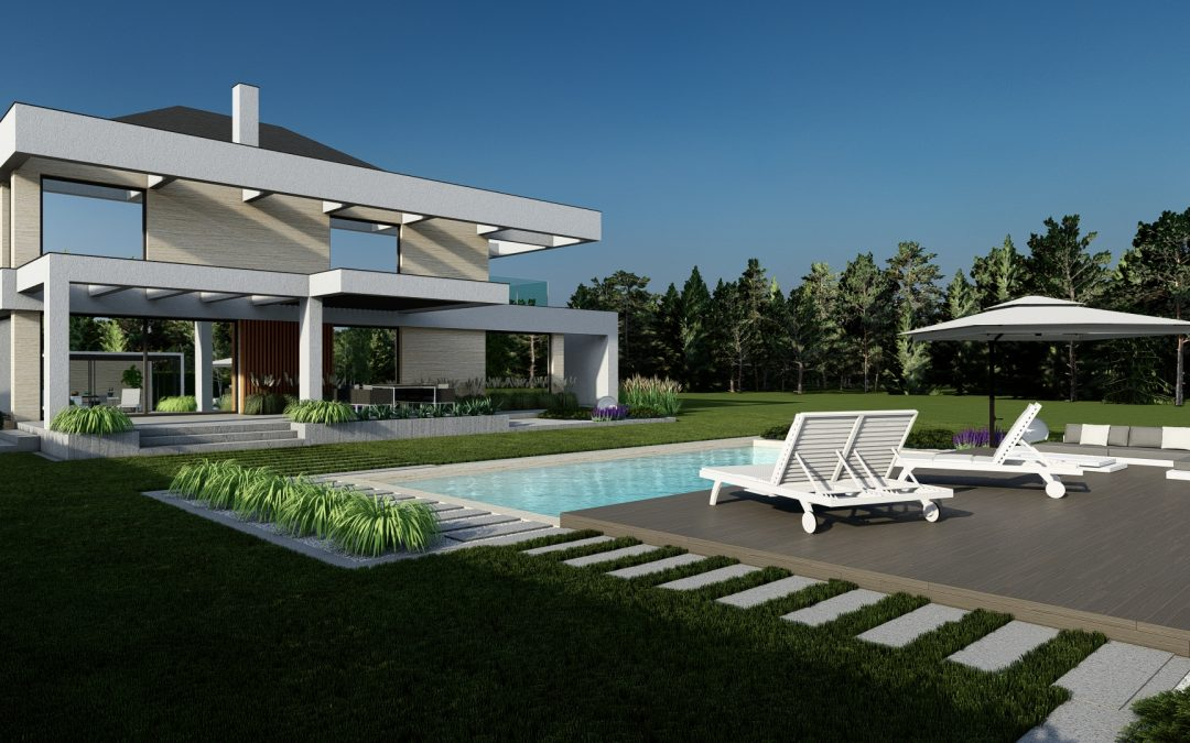 Ogród nowoczesny 7