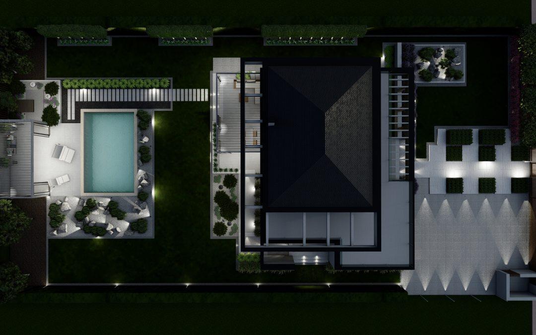 Ogród nowoczesny 9